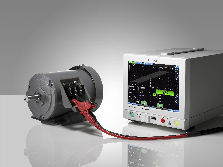 Nuovo strumento per l'analisi degli avvolgimenti dei motori elettrici Hioki mod. ST4030