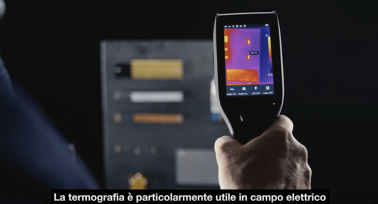 Pillole di termografia. Termografia in elettrotecnica.