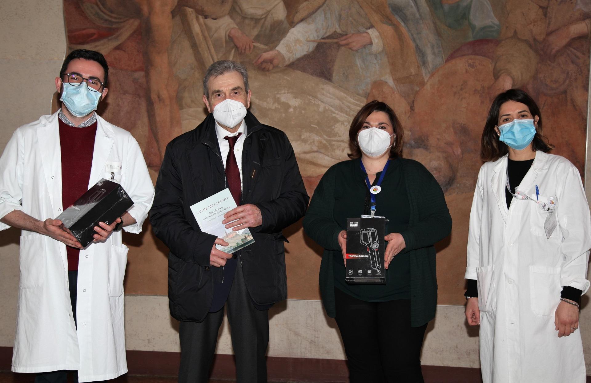 Termoscanner donati alle strutture sanitarie della Regione Emilia Romagna